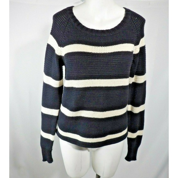 Volcom Sweater Striped Pullover Long Sleeve